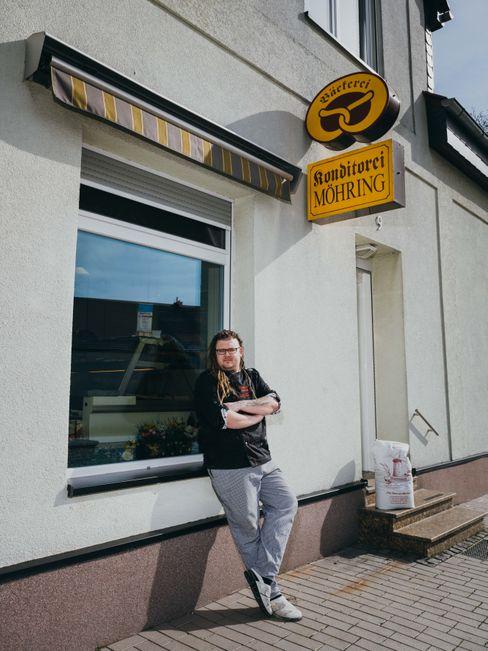 """Marcus Ostendorf: """"Als kleiner Bäcker braucht man Alleinstellungsmerkmale, um die Kunden anzulocken"""""""