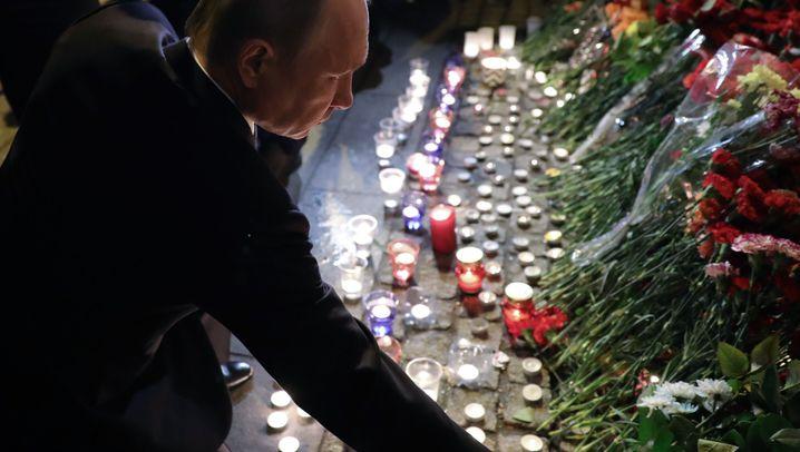 Sicherheitsmaßnahmen in Russland: Polizei überall