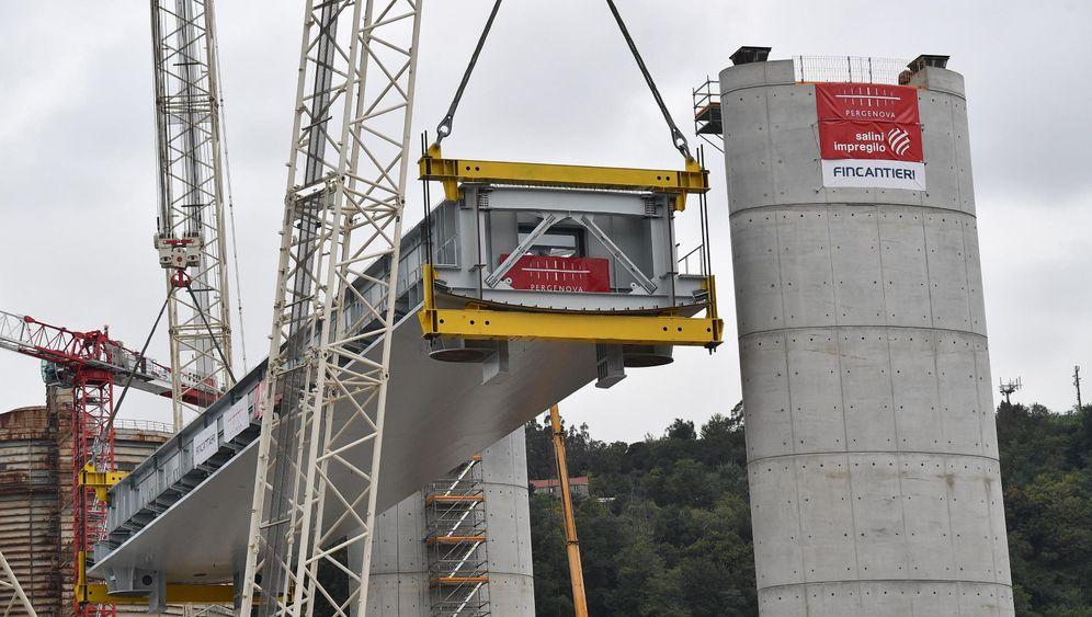 """Brückenbau in Genua: """"Ein Schiff, das das Tal durchfährt"""""""