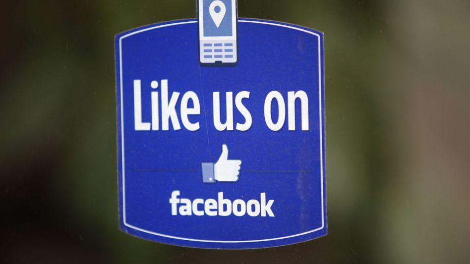 """Logo von Facebooks """"Like""""-Button"""