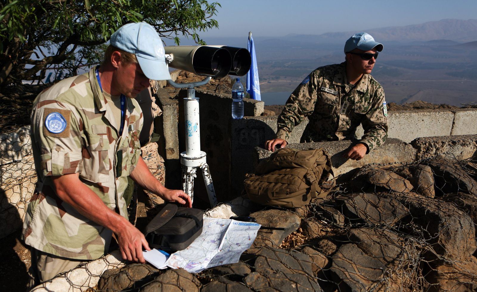 UN Peacekeepers at Golan Heights