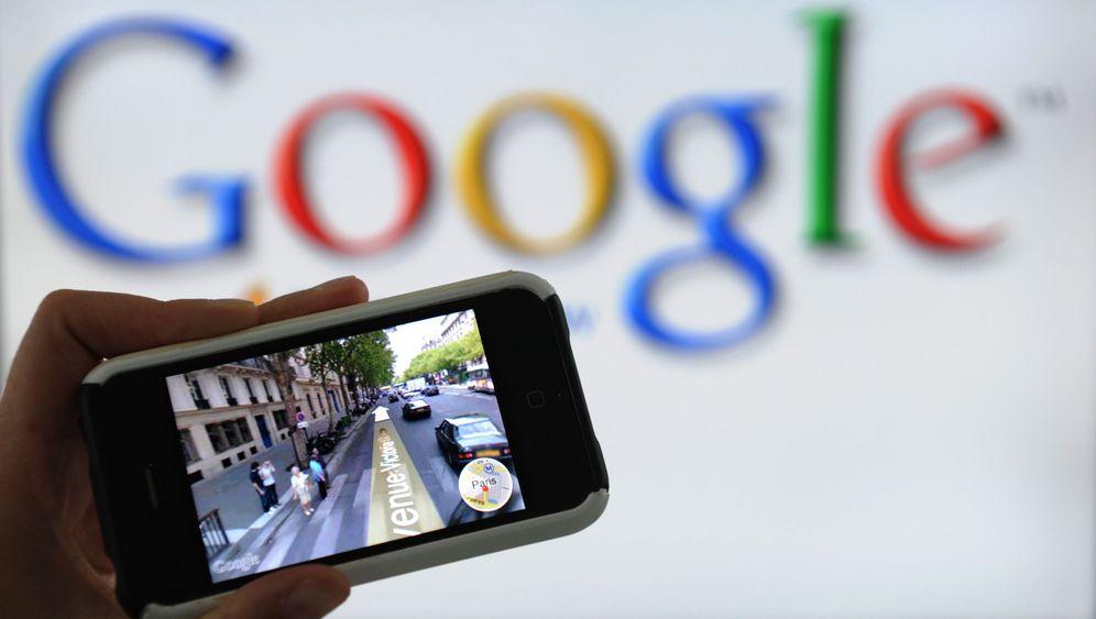 Google Street View: Widerspruchseite mit technischen Macken