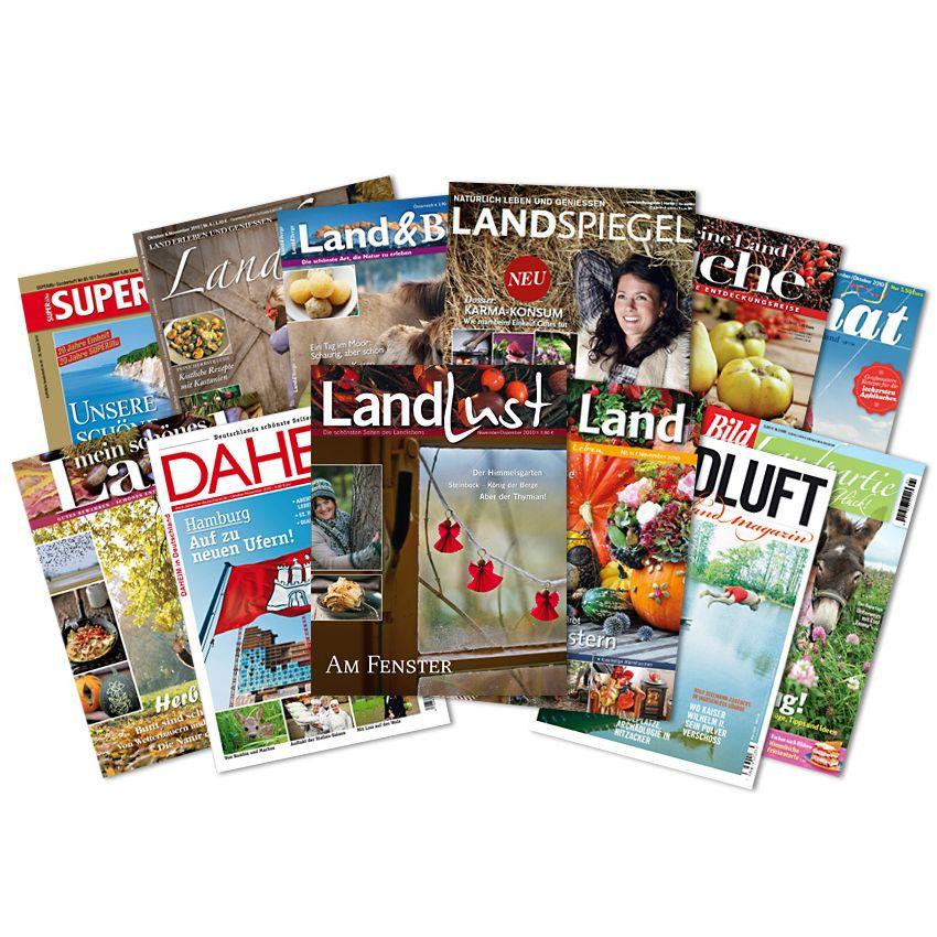 EINMALIGE VERWENDUNG NUR ALS AUFMACHER ! Landmagazine/ Heimatmagazine/ Fächer
