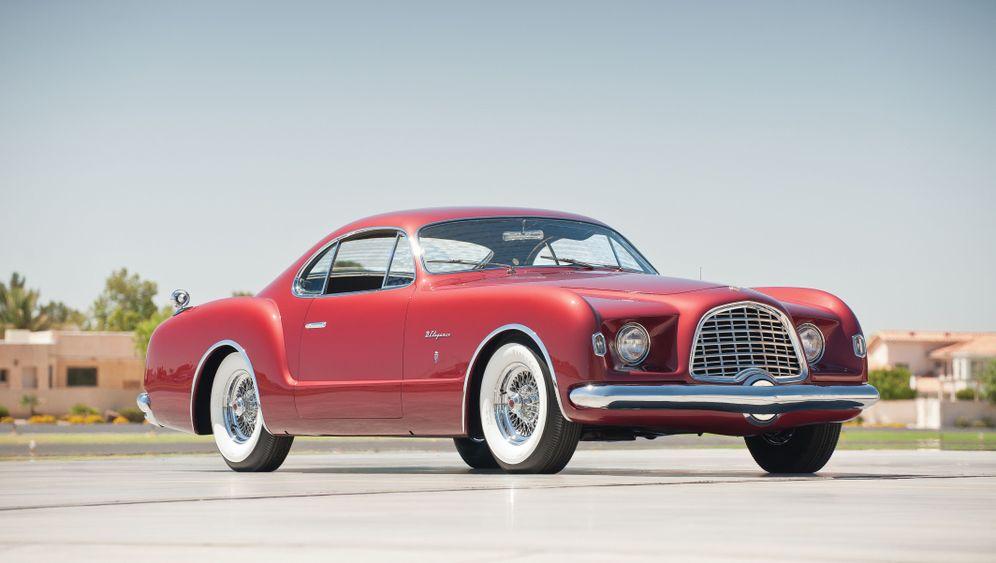 Chrysler D'Elegance: Karmann Ghia im Großformat