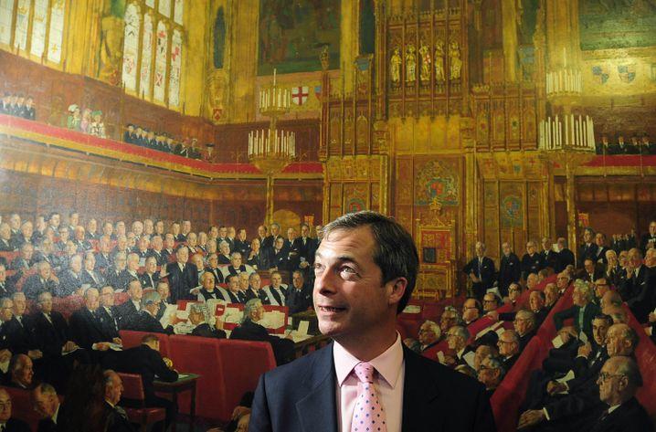 UKIP-Chef Nigel Farage: Kalkulierte Eklats in Brüssel