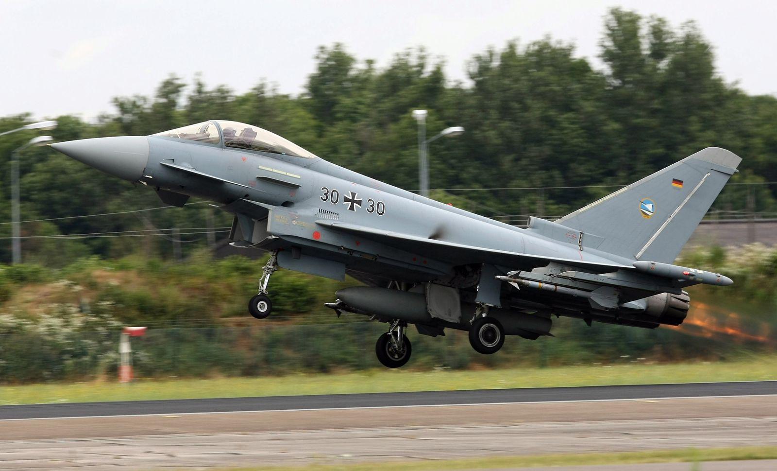 Bundeswehr/ Transportmittel/ Eurofighter