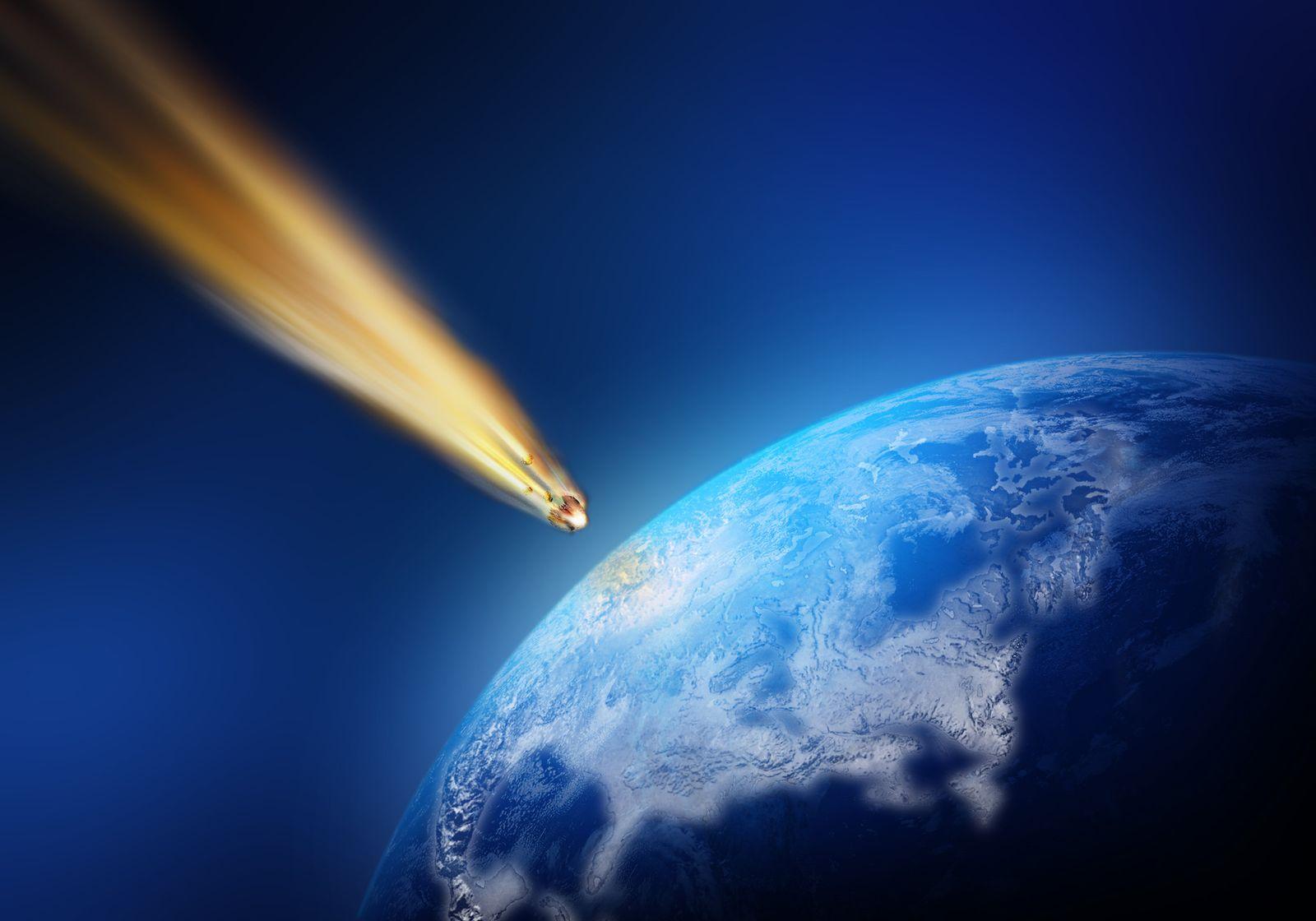 NICHT MEHR VERWENDEN! - Meteorit / Erde