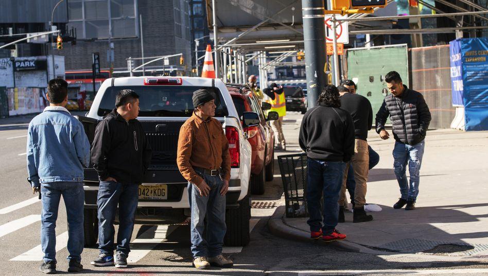 Arbeitssuchende in New York