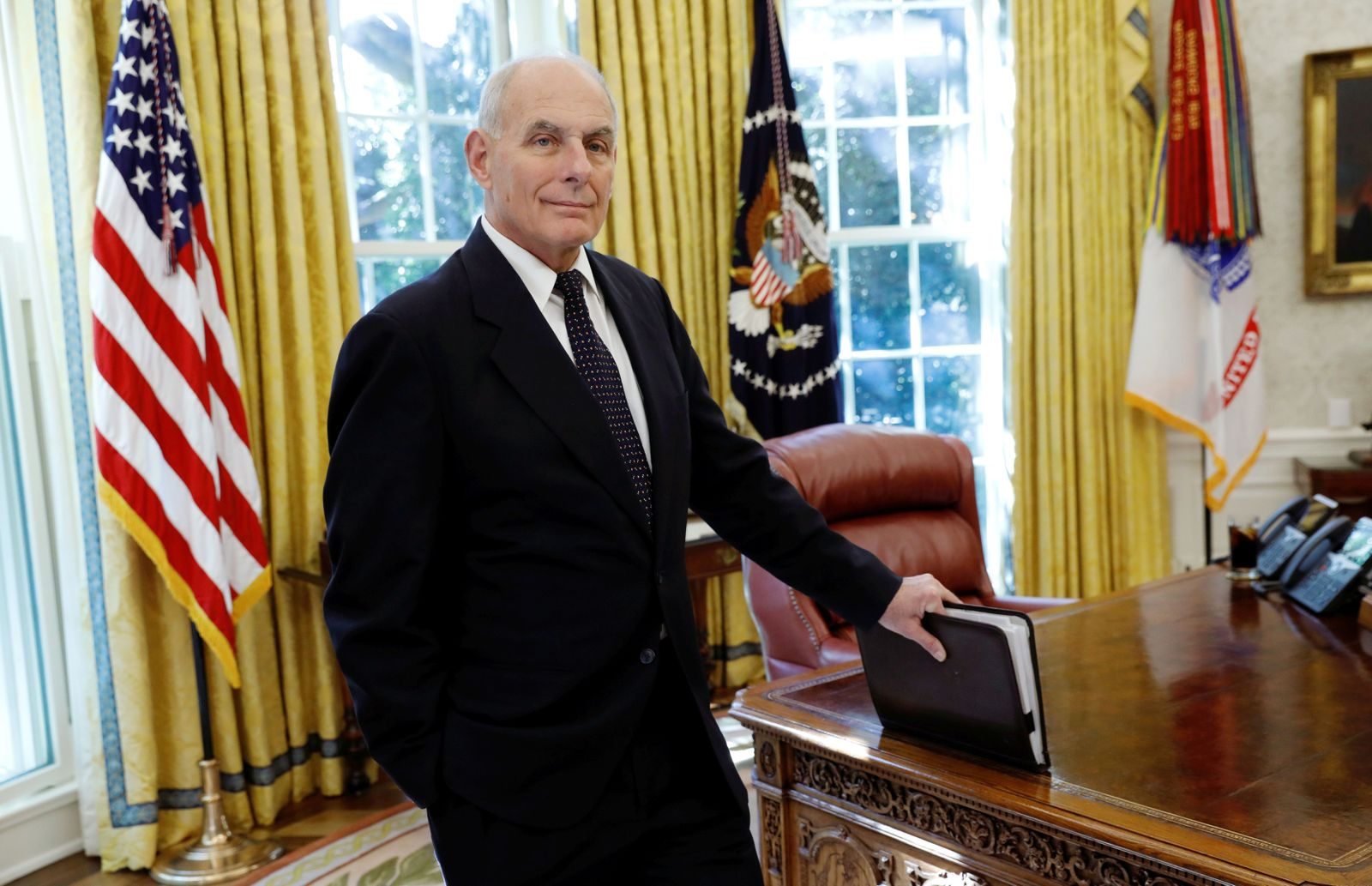 John Kelly/ Oval Office/ Trump