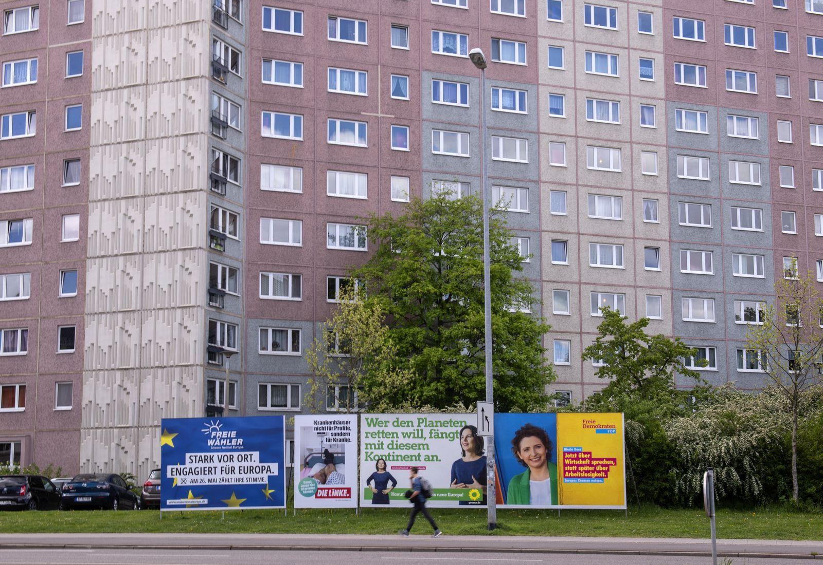 Wahlplakate Erfurt