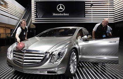 Mercedes-Benz-Prototyp auf der Auto-Messe IAA: Glanz des Sterns