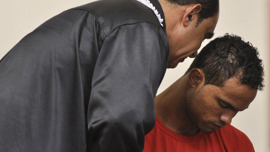 Bruno Fernandes während des Gerichtsprozesses 2013