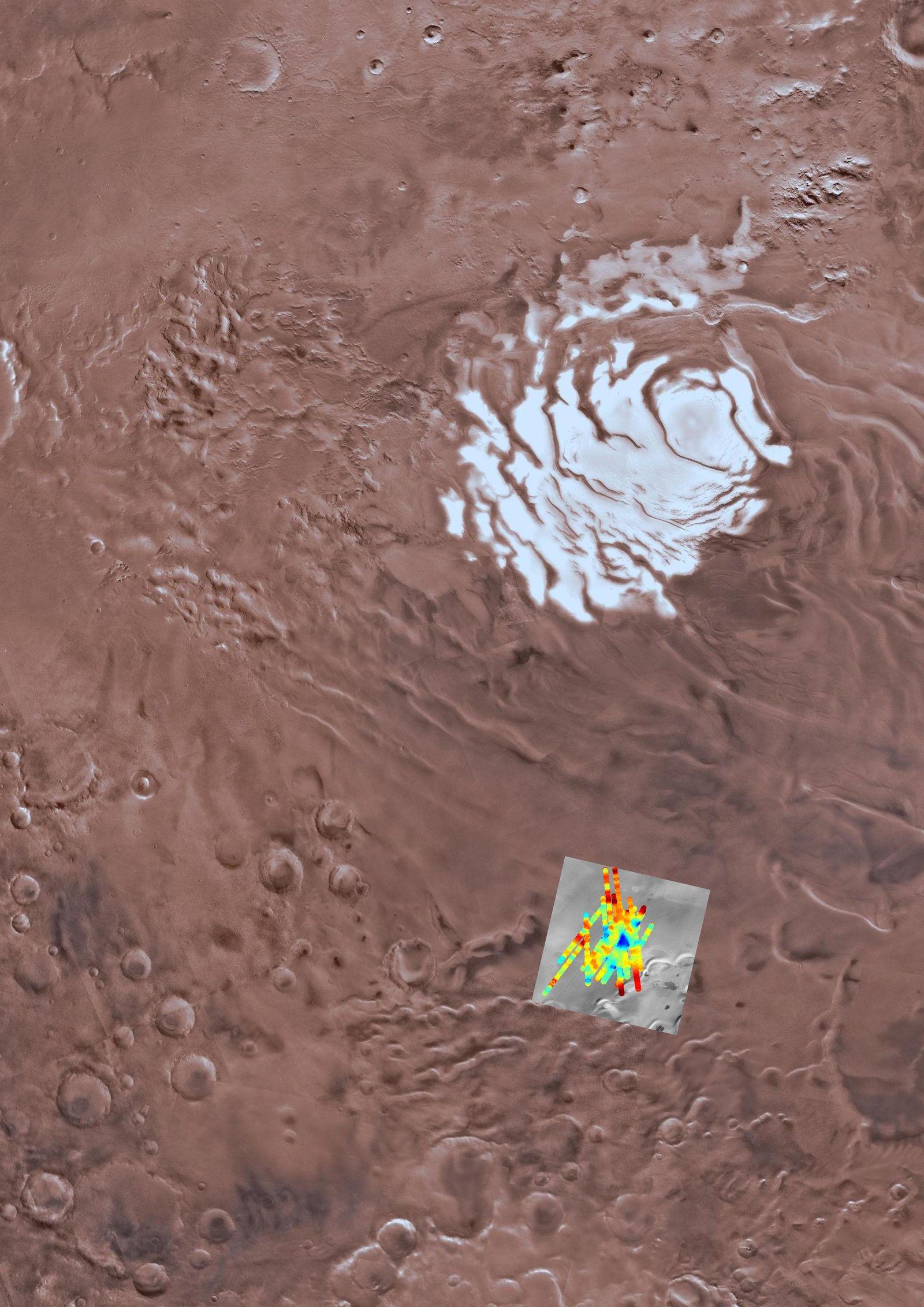SPERRFRIST 25.07.18 16 Uhr / Wasser auf dem Mars