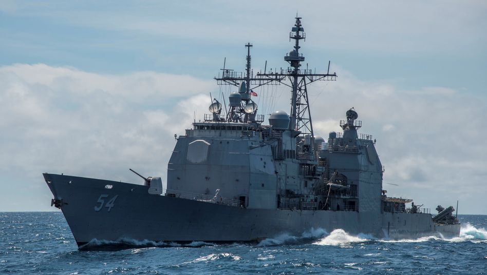 """U.S.S. """"Antietam"""": Heikle Passage zwischen Taiwan und dem chinesischen Festland"""