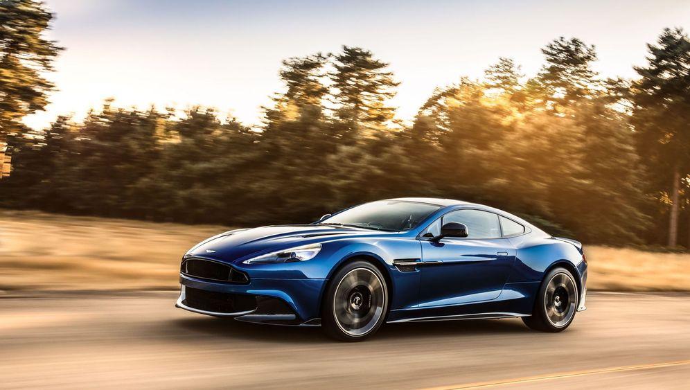Autogramm Aston Martin Vanquish S: Außen zeitlos, innen veraltet
