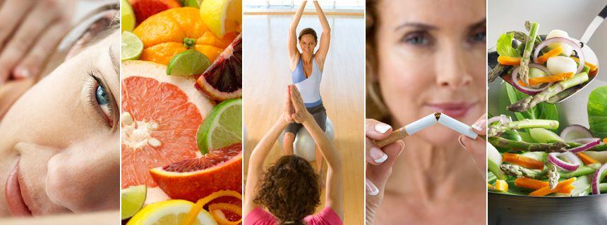 Wellness, Vitamine, Bewegung und Nichtraucher werden: In den Körper investieren