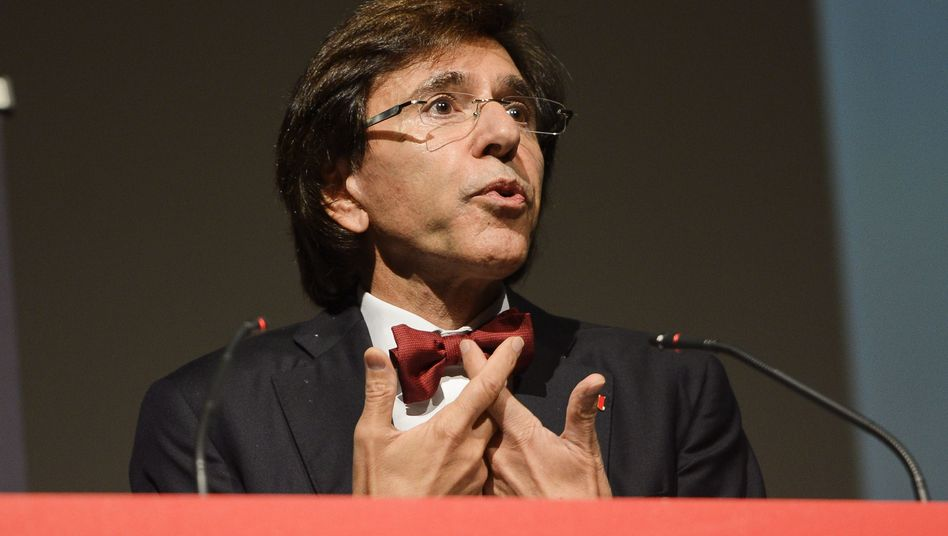 "Belgian Prime Minister Elio Di Rupo: ""We will look very closely at the information."""