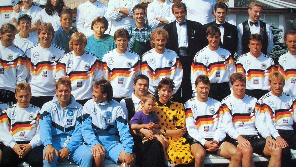 WM-Vorbereitung 1990: Als Franz und Franz den Titel holten
