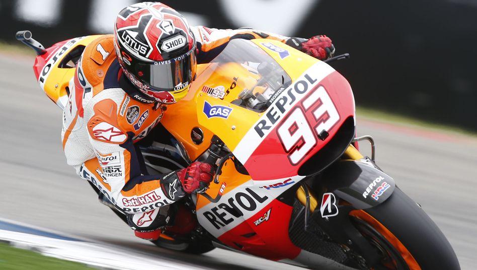 MotoGP-Pilot Márquez: Auch im Regen von Assen nicht zu stoppen