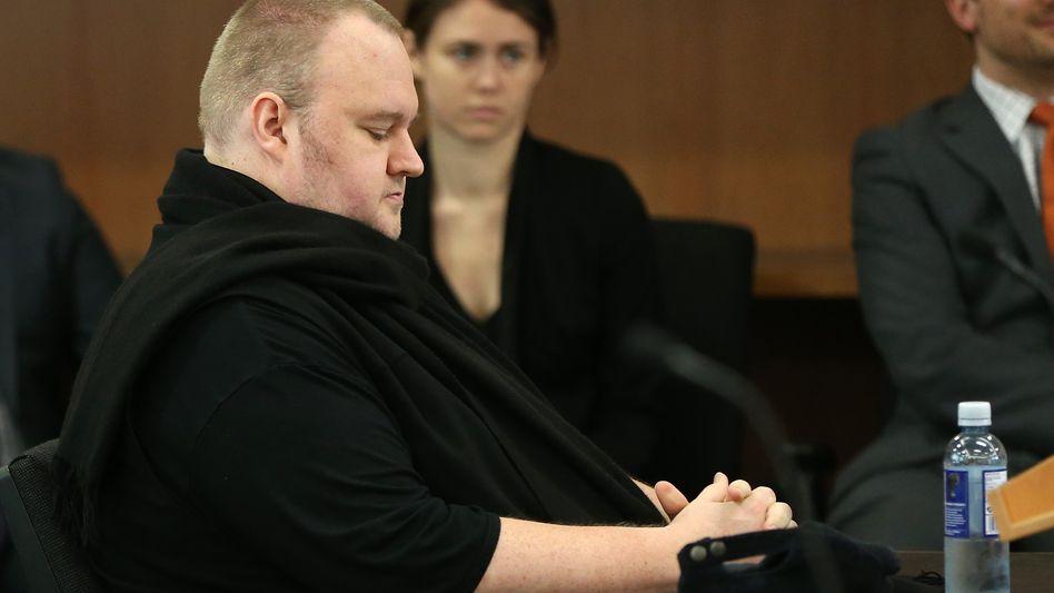 Kim Dotcom im Gerichtssaal (Archivbild)