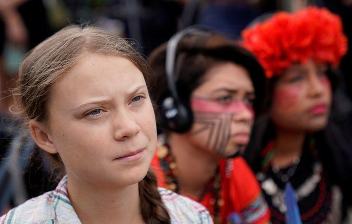 """Greta Thunberg: """"Und alles, worüber ihr sprechen könnt, ist Geld"""""""