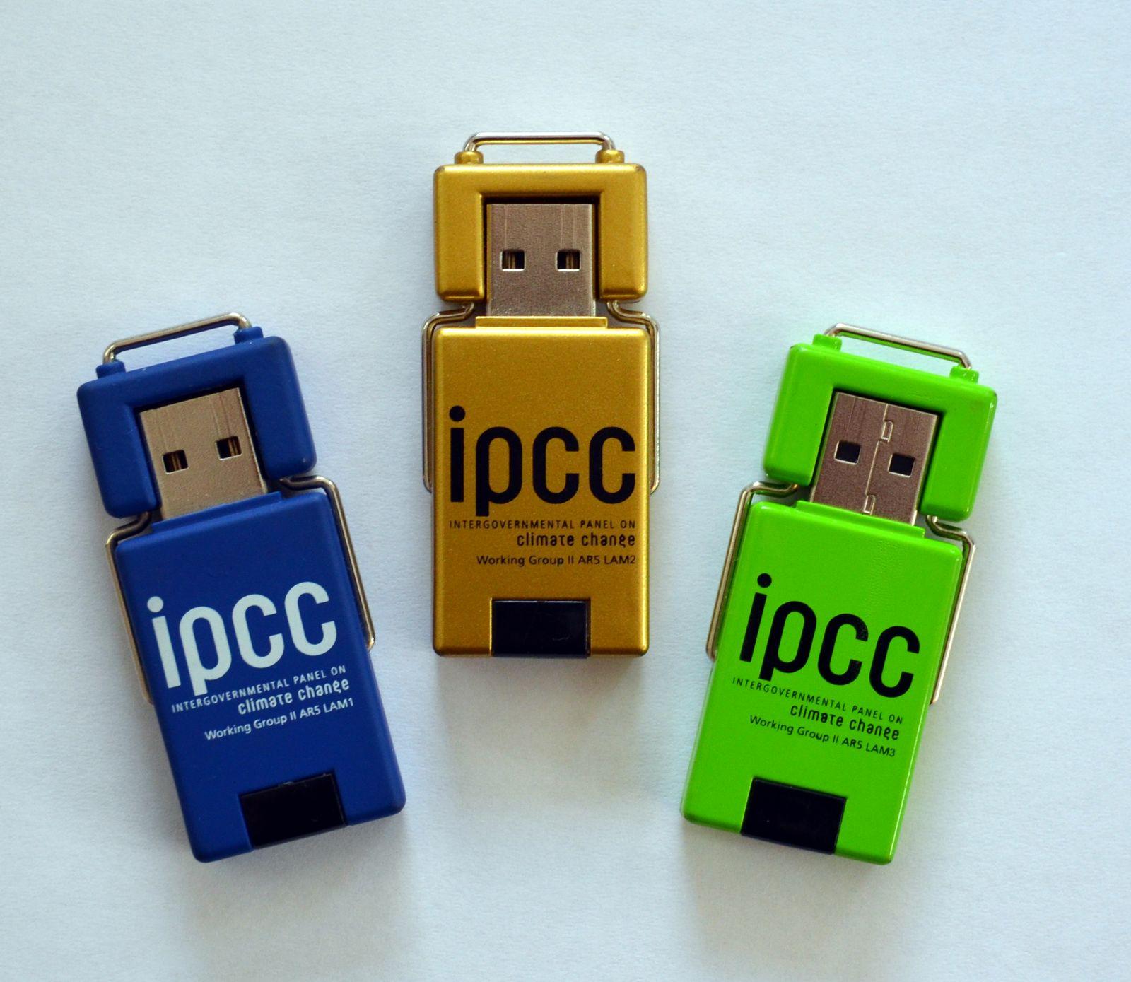 EINMALIGE VERWENDUNG Datenleck / Weltklimarat / IPCC
