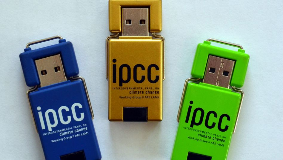 """USB-Sticks mit IPCC-Material: """"Nicht das Gesetz gebrochen"""""""