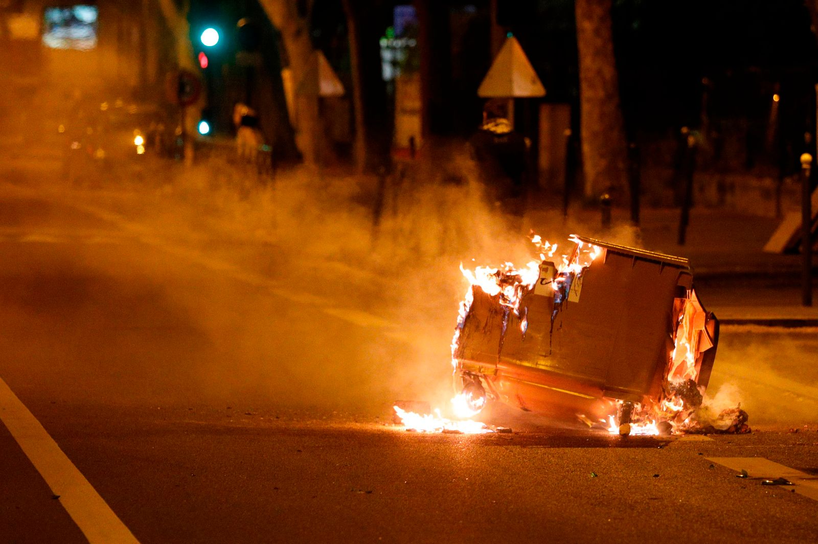 FRANCE-POLICE-ACCIDENT-UNREST