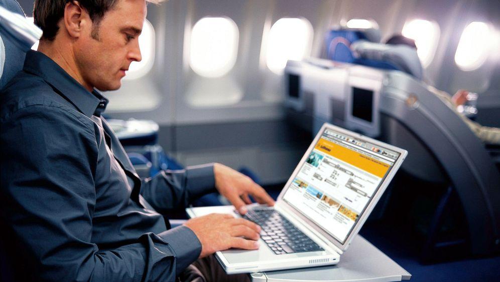 Kommunikation im Flugzeug: Simsen, Quatschen, Surfen