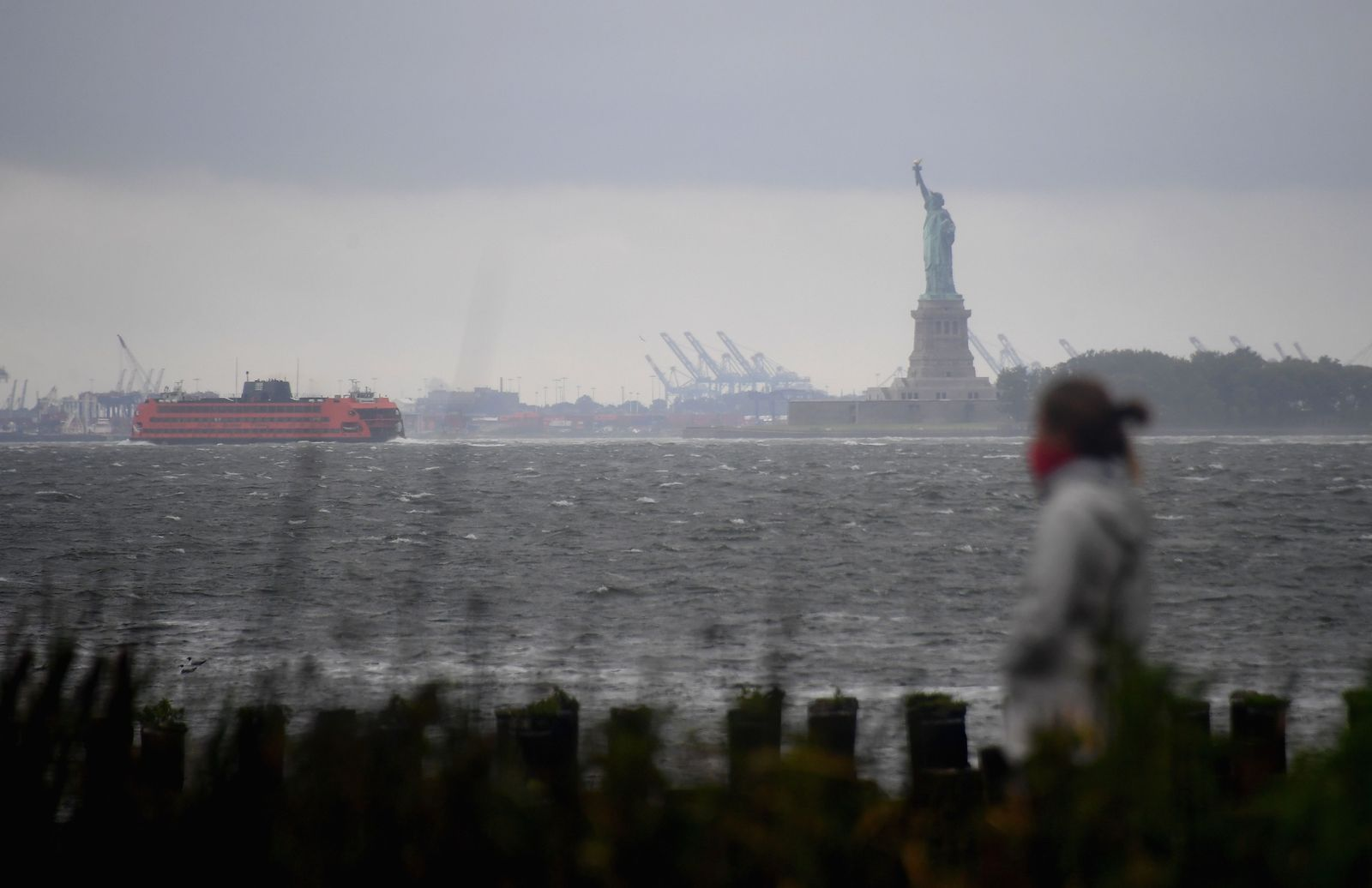 Tropical Storm Isaiah Hits New York City Bringing Heavy Rain