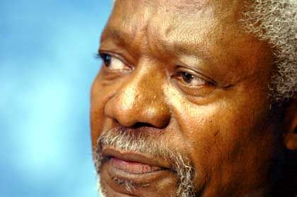 United Nations Secretary General Kofi Annan wants to give the global market a human face.