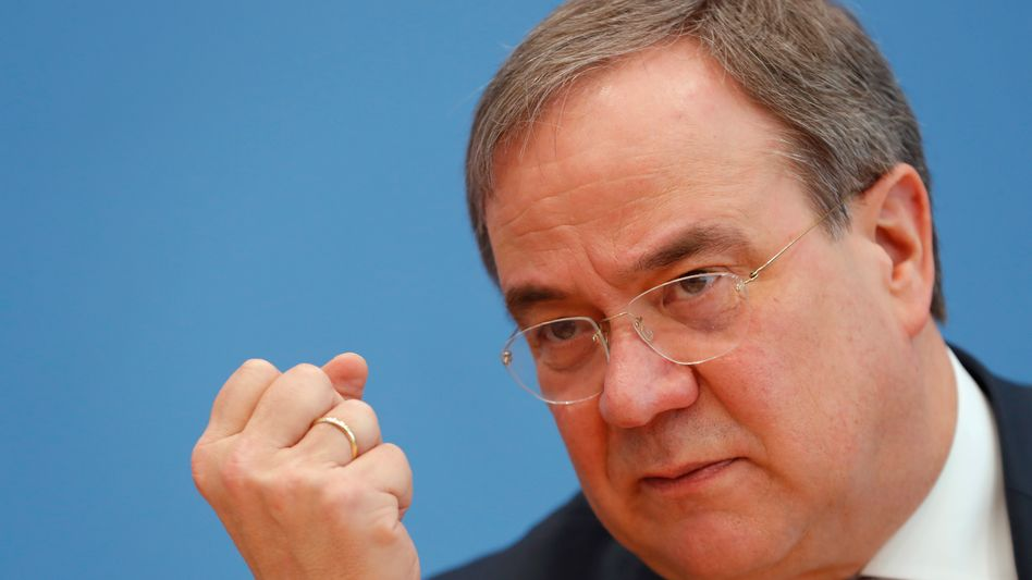 CDU-Bundesvorsitzende Armin Laschet: «Das Parlament unverzüglich verlassen»