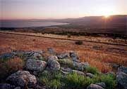 Golan-Höhen am See Genezareth: Wasserquellen von Israel 1967 erobert