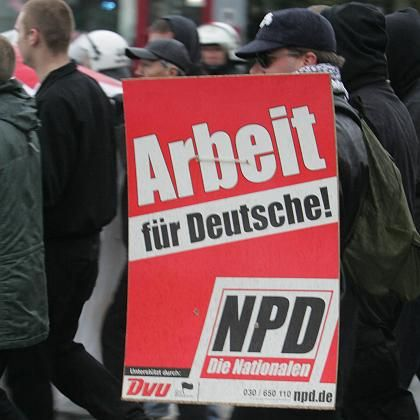 Weit verbreitete Ausländerfeindlichkeit: NPD-Aufmarsch am 4. November in Bremen