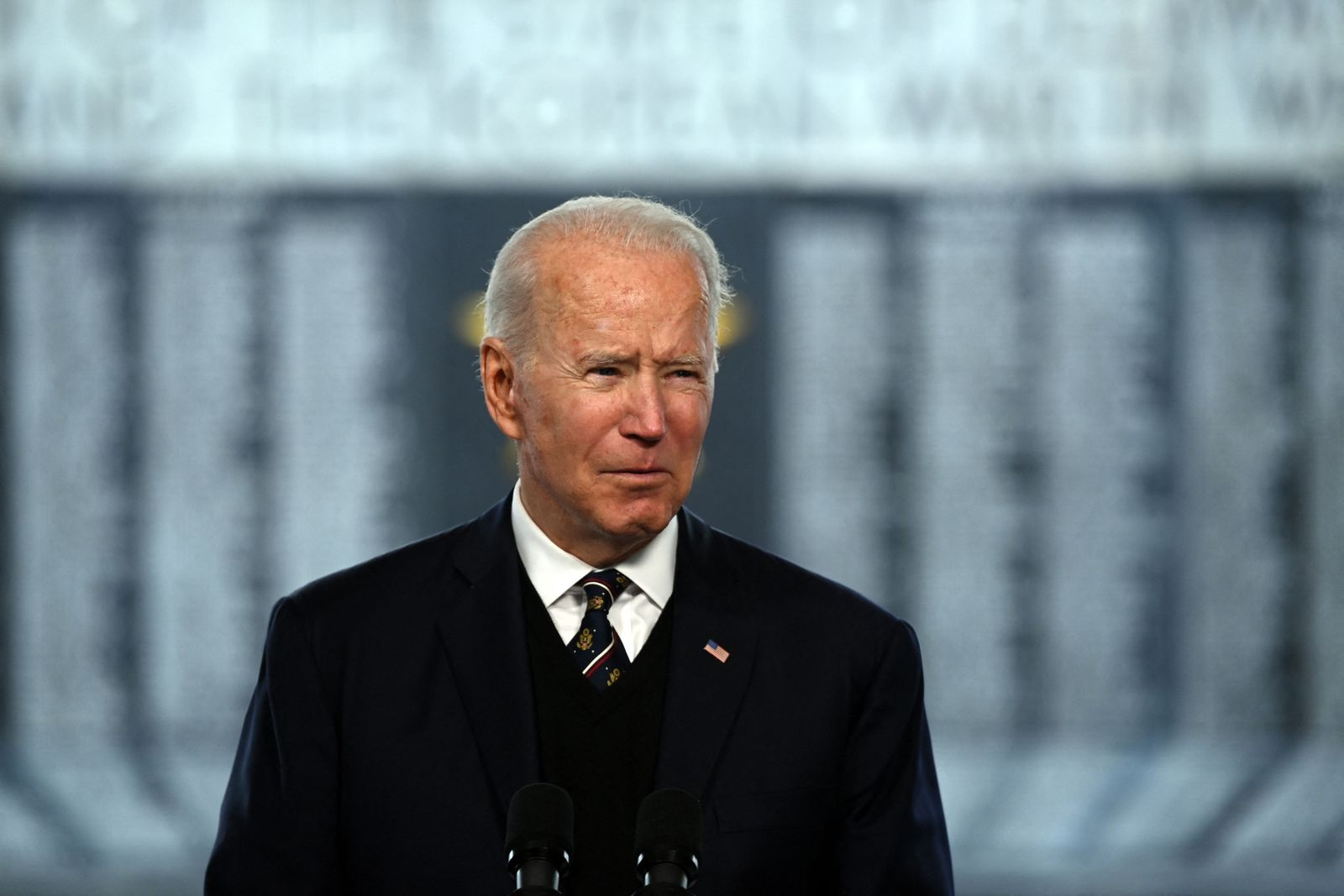 US-POLITICS-BIDEN-MEMORIAL