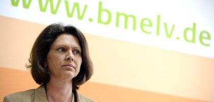 """Bundesagrarministerin Aigner: """"Keine politische Entscheidung"""""""