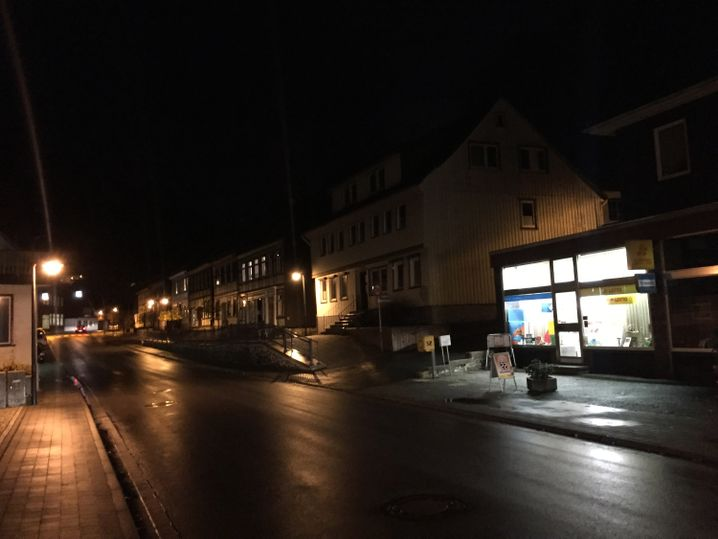 Kiosk im Ortskern von Zorge