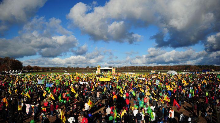 Atomprotest: 50.000 gegen den Castor
