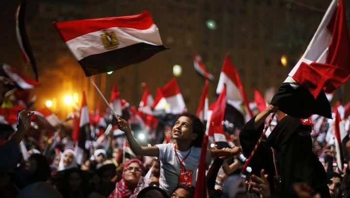 Nach Mursis Sturz: So jubelt der Tahrir-Platz