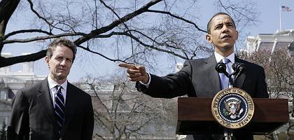 Geithner, Obama: Neues öffentlich-privates Investmentprogramm