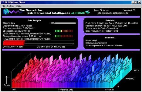 SETI-Bildschirmschoner