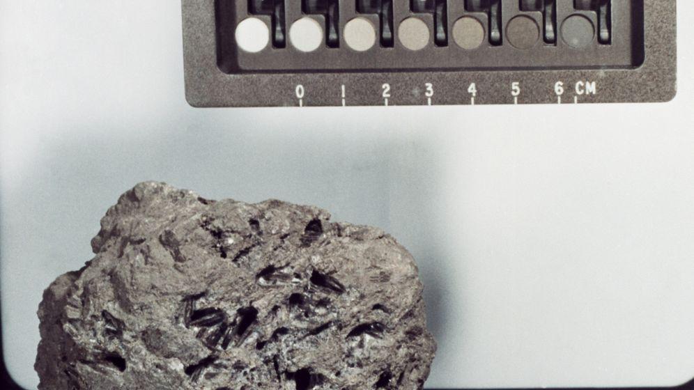 Verlorenes Mondgestein: Aufräumen bei der Nasa