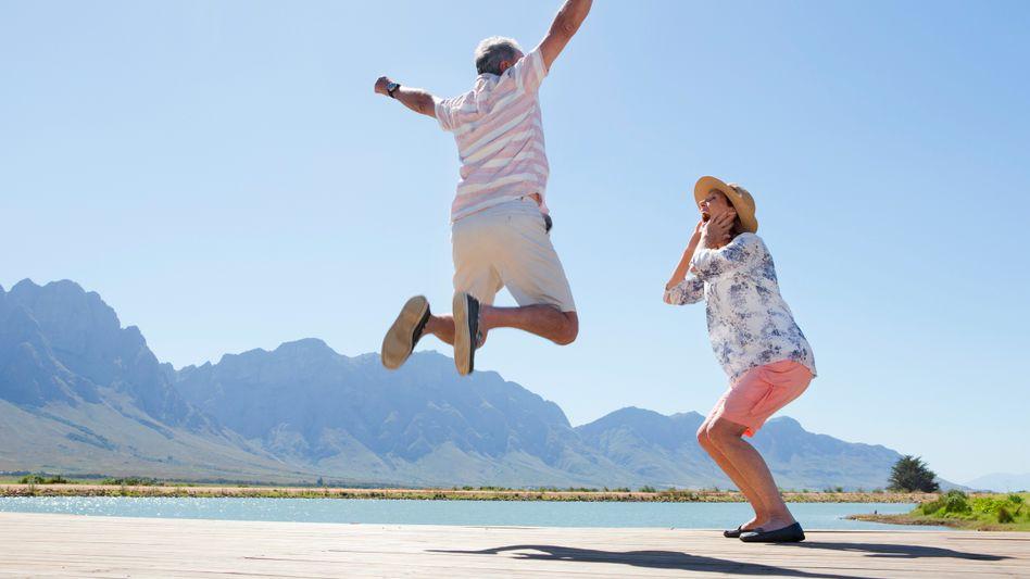 Glückliches Paar: Eine positive Beziehung steigert das Wohlbefinden - und hält gesund