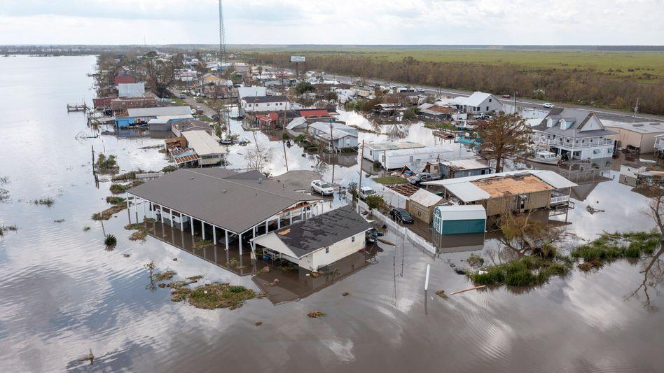 Überschwemmungen in Louisiana durch Hurrikan »Ida«
