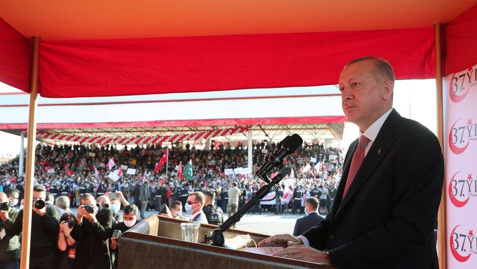Erdoğan in Nordzypern: Sein Besuch dürfte in Griechenland als Provokation wahrgenommen werden