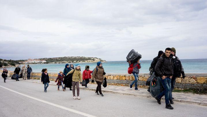 Türkei: Eine Mauer soll Flüchtlinge abwehren