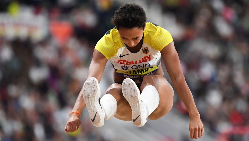 Malaika Mihambo hat dem Druck standgehalten: Gold