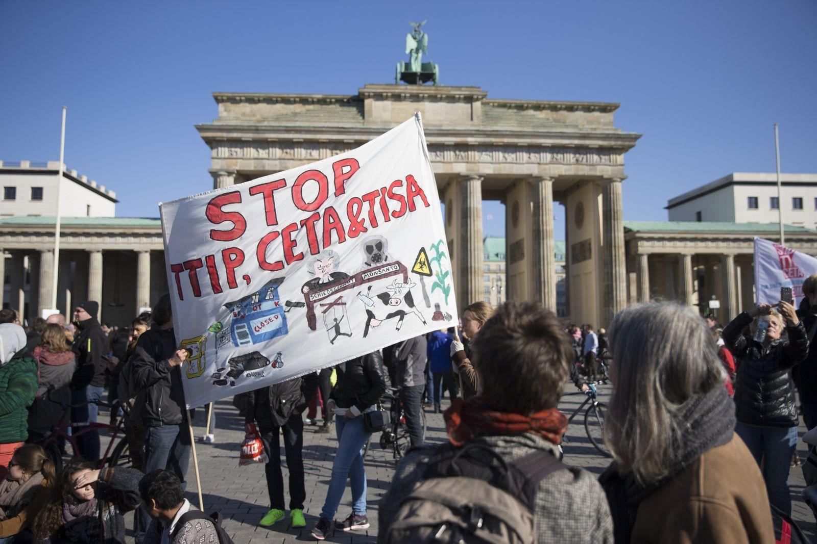 Anti-TTIP-Demo Berlin