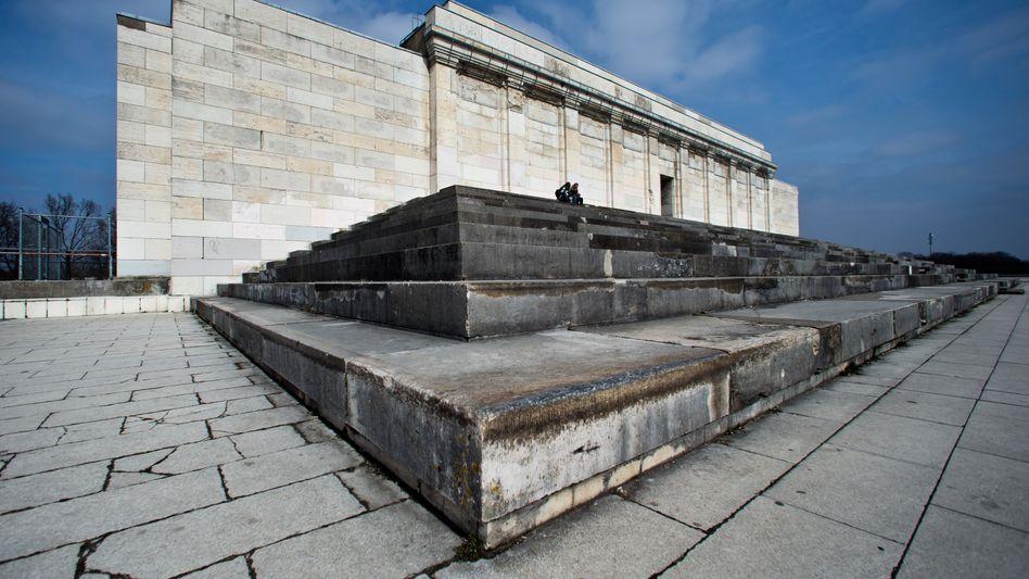 Zeppelintribüne auf dem ehemaligen Reichsparteitagsgelände