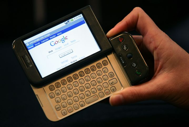 Das erste Android-Smartphone hieß G1